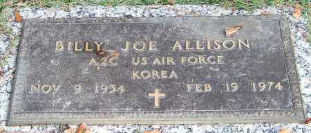 ALLISON (VETERAN KOR), BILLY JOE - Saline County, Arkansas | BILLY JOE ALLISON (VETERAN KOR) - Arkansas Gravestone Photos