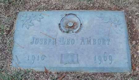 AMBORT, JOSEPH LEO - Saline County, Arkansas | JOSEPH LEO AMBORT - Arkansas Gravestone Photos