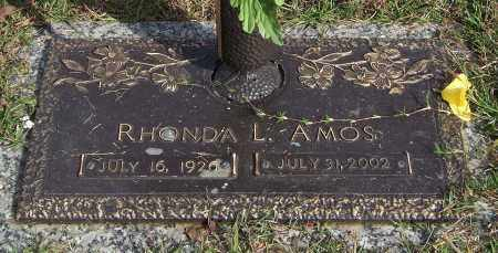AMOS, RHONDA L. - Saline County, Arkansas | RHONDA L. AMOS - Arkansas Gravestone Photos