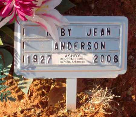ANDERSON, RUBY JEAN (2) - Saline County, Arkansas | RUBY JEAN (2) ANDERSON - Arkansas Gravestone Photos