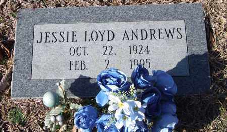 ANDREWS, JESSIE LOYD - Saline County, Arkansas | JESSIE LOYD ANDREWS - Arkansas Gravestone Photos