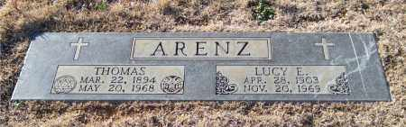 ARENZ, THOMAS - Saline County, Arkansas | THOMAS ARENZ - Arkansas Gravestone Photos