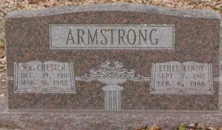 ARMSTRONG, WM. CHESTER - Saline County, Arkansas | WM. CHESTER ARMSTRONG - Arkansas Gravestone Photos