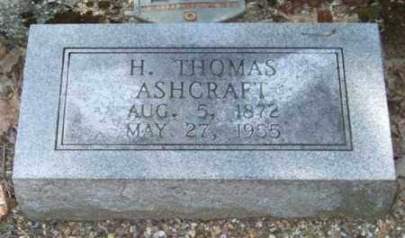 ASHCRAFT, H. THOMAS - Saline County, Arkansas | H. THOMAS ASHCRAFT - Arkansas Gravestone Photos
