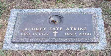 ATKINS, AUDREY FAYE - Saline County, Arkansas | AUDREY FAYE ATKINS - Arkansas Gravestone Photos