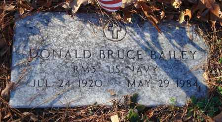 BAILEY (VETERAN), DONALD BRUCE - Saline County, Arkansas | DONALD BRUCE BAILEY (VETERAN) - Arkansas Gravestone Photos