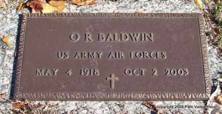 BALDWIN (VETERAN), O. R. - Saline County, Arkansas | O. R. BALDWIN (VETERAN) - Arkansas Gravestone Photos