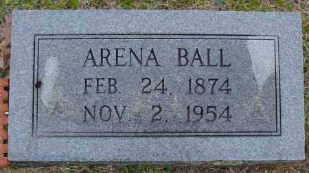 BALL, ARENA - Saline County, Arkansas | ARENA BALL - Arkansas Gravestone Photos
