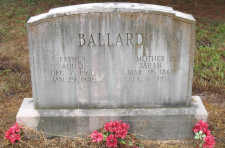 BALLARD, ADD J. - Saline County, Arkansas | ADD J. BALLARD - Arkansas Gravestone Photos