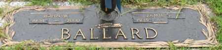 BALLARD, JOHN W. - Saline County, Arkansas | JOHN W. BALLARD - Arkansas Gravestone Photos