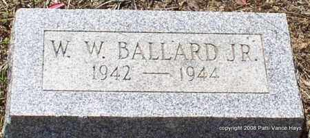 BALLARD, JR., W. W. - Saline County, Arkansas | W. W. BALLARD, JR. - Arkansas Gravestone Photos
