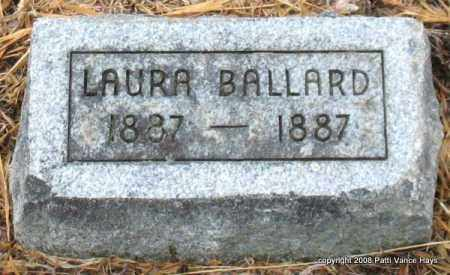 BALLARD, LAURA - Saline County, Arkansas | LAURA BALLARD - Arkansas Gravestone Photos