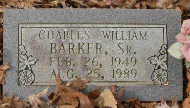 BARKER, SR., CHARLES WILLIAM - Saline County, Arkansas | CHARLES WILLIAM BARKER, SR. - Arkansas Gravestone Photos