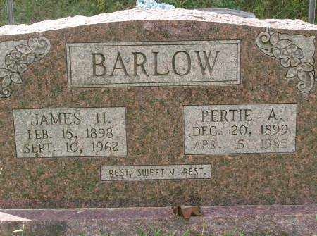 BARLOW, JAMES H. - Saline County, Arkansas | JAMES H. BARLOW - Arkansas Gravestone Photos