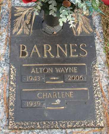 BARNES, ALTON WAYNE - Saline County, Arkansas | ALTON WAYNE BARNES - Arkansas Gravestone Photos