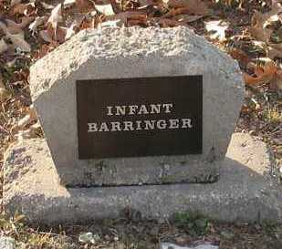 BARRINGER, INFANT - Saline County, Arkansas | INFANT BARRINGER - Arkansas Gravestone Photos