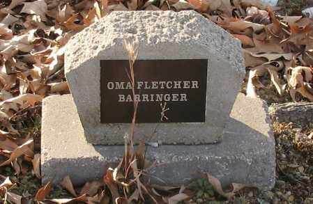 BARRINGER, OMA - Saline County, Arkansas | OMA BARRINGER - Arkansas Gravestone Photos