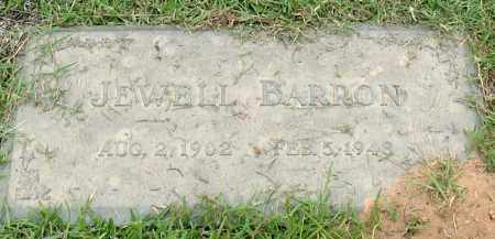 BARRON, JEWELL - Saline County, Arkansas | JEWELL BARRON - Arkansas Gravestone Photos