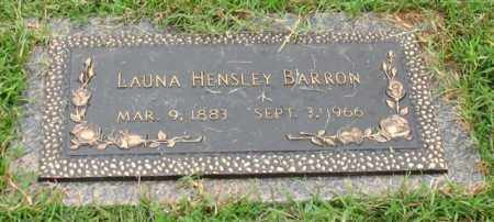 BARRON, LAUNA - Saline County, Arkansas | LAUNA BARRON - Arkansas Gravestone Photos