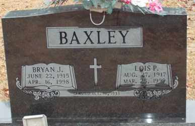 BAXLEY, LOIS P. - Saline County, Arkansas | LOIS P. BAXLEY - Arkansas Gravestone Photos