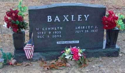 BAXLEY, H. KENNETH - Saline County, Arkansas | H. KENNETH BAXLEY - Arkansas Gravestone Photos