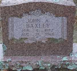BAXLEY, JOHN A. - Saline County, Arkansas | JOHN A. BAXLEY - Arkansas Gravestone Photos