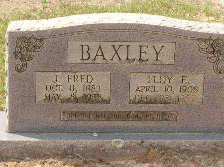 BAXLEY, J. FRED - Saline County, Arkansas | J. FRED BAXLEY - Arkansas Gravestone Photos