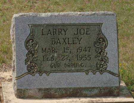 BAXLEY, LARRY JOE - Saline County, Arkansas | LARRY JOE BAXLEY - Arkansas Gravestone Photos