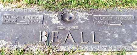 BEALL, OTHA TERRAL - Saline County, Arkansas | OTHA TERRAL BEALL - Arkansas Gravestone Photos