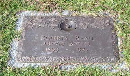 BEALL, ROBERTA - Saline County, Arkansas | ROBERTA BEALL - Arkansas Gravestone Photos