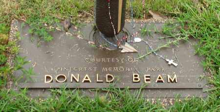 BEAM, DONALD - Saline County, Arkansas | DONALD BEAM - Arkansas Gravestone Photos