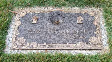 BEAN, MARY LUCILLE - Saline County, Arkansas | MARY LUCILLE BEAN - Arkansas Gravestone Photos