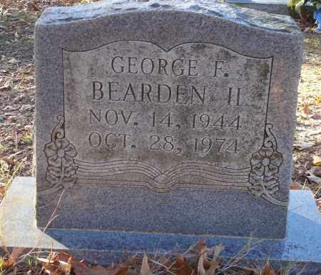 BEARDEN II, GEORGE F - Saline County, Arkansas | GEORGE F BEARDEN II - Arkansas Gravestone Photos