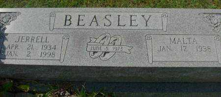 BEASLEY, JERRELL - Saline County, Arkansas | JERRELL BEASLEY - Arkansas Gravestone Photos