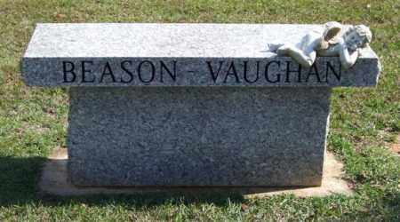 BEASON-VAUGHAN, BENCH - Saline County, Arkansas | BENCH BEASON-VAUGHAN - Arkansas Gravestone Photos