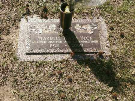 BECK, MARDELL - Saline County, Arkansas | MARDELL BECK - Arkansas Gravestone Photos