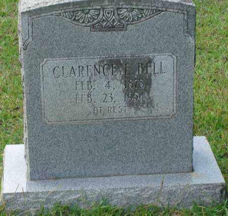 BELL, CLARENCE E. - Saline County, Arkansas | CLARENCE E. BELL - Arkansas Gravestone Photos