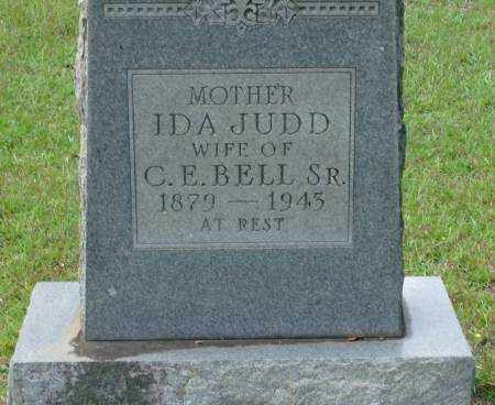 JUDD BELL, IDA - Saline County, Arkansas | IDA JUDD BELL - Arkansas Gravestone Photos