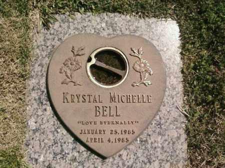 BELL, KRYSTAL MICHELLE - Saline County, Arkansas | KRYSTAL MICHELLE BELL - Arkansas Gravestone Photos