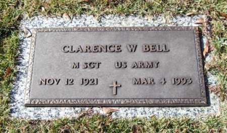 BELL (VETERAN), CLARENCE W - Saline County, Arkansas | CLARENCE W BELL (VETERAN) - Arkansas Gravestone Photos