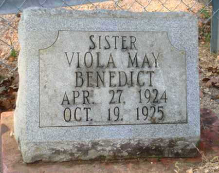 BENEDICT, VIOLA MAY - Saline County, Arkansas | VIOLA MAY BENEDICT - Arkansas Gravestone Photos