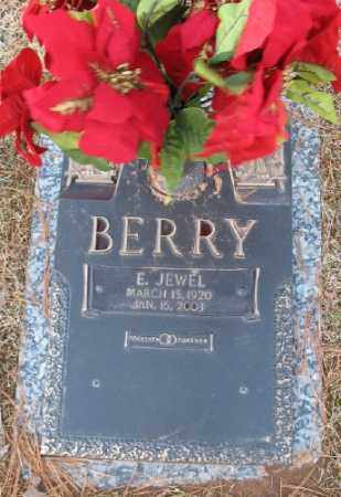 BERRY, E. JEWEL - Saline County, Arkansas | E. JEWEL BERRY - Arkansas Gravestone Photos