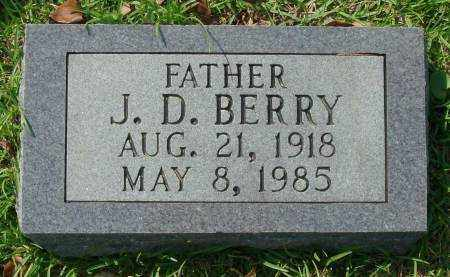 BERRY, J.D. - Saline County, Arkansas | J.D. BERRY - Arkansas Gravestone Photos