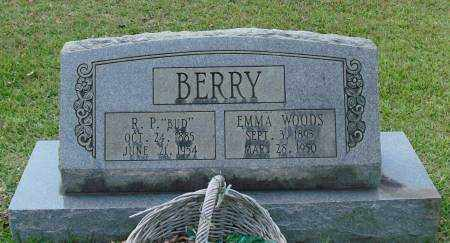 BERRY, EMMA - Saline County, Arkansas | EMMA BERRY - Arkansas Gravestone Photos