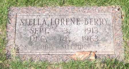 BERRY, STELLA LORENE - Saline County, Arkansas | STELLA LORENE BERRY - Arkansas Gravestone Photos