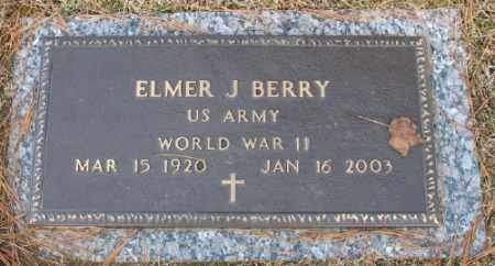 BERRY (VETERAN WWII), ELMER J - Saline County, Arkansas | ELMER J BERRY (VETERAN WWII) - Arkansas Gravestone Photos