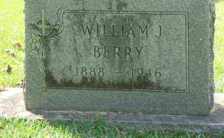 BERRY, WILLIAM J - Saline County, Arkansas | WILLIAM J BERRY - Arkansas Gravestone Photos