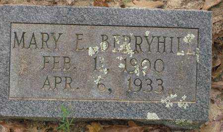 BERRYHILL, MARY E. - Saline County, Arkansas | MARY E. BERRYHILL - Arkansas Gravestone Photos