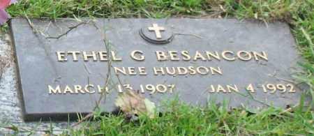 HUDSON BESANCON, ETHEL G. - Saline County, Arkansas | ETHEL G. HUDSON BESANCON - Arkansas Gravestone Photos