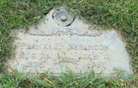 BESANCON, FRANK E. - Saline County, Arkansas | FRANK E. BESANCON - Arkansas Gravestone Photos